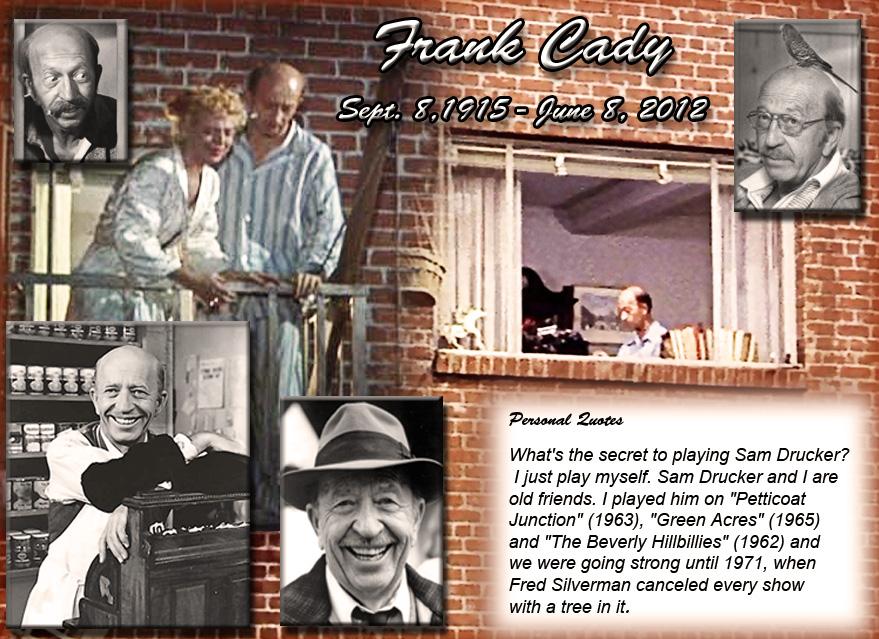 Frank Cady, Sam Drucker, Petticoat Junction